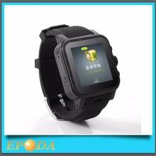 Wifi GPS Android SIM Card Smart Watch MTK6572 Dual Core 3G Watch Phone
