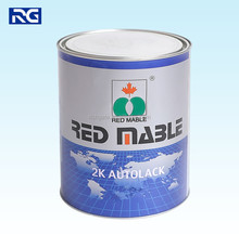 Silver Metallic Colours refinish paint RED MABLE