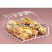acrylic bread display rack