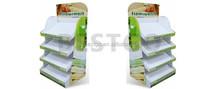 High quality ECO friendly Paper cardboard floor shelf display