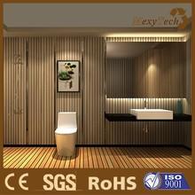 Elegant WPC Indoor Wall Panel Suits for Bathroom