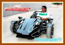 Electric Start 250cc Engine Drift Trike for Racing (TR2501)