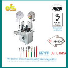 js-4000 máquina que prensa terminal eléctrico( doble cabeza)