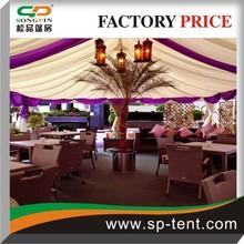 Exhibition tent - outdoor commercial activities