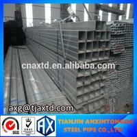 low price welded square pipe moq/square tube base plate