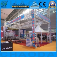Cheap used aluminum truss trade show booth