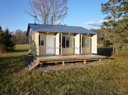 low price 20ft living container house prefabricated refugee house