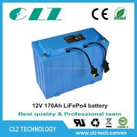 Can be customized 12v 20ah 40ah 90ah 100ah 110ah 170ah solar street light battery