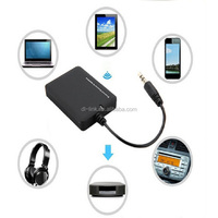 Factory supply, Portable 2.1 Bluetooth Stereo Receiver for All 3.5mm Audio-in Speaker for Car Music, Headphones, Home Stereo
