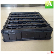 Thick ABS vacuum formed plastic compartment tray