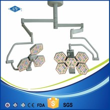 SY02-LED3+5 Double ended LED CE and FDA Approved Equipment Operating Room Lighting Shadowless Surgical Lamp