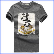 short sleeve fashion boys stylish t-shirt A4 size custom printing t-shirt wholesale