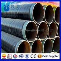 oil gas steel tube and 3 layer polyethylene pe coated