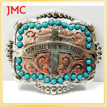 2015 hot sale fashion western belt buckle with low price