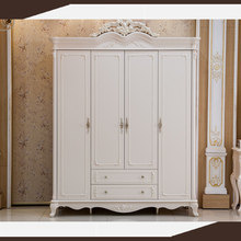 danxueya MDF four doors wardrobe / cheap folding cupboard wardrobe /printed sliding door wardrobes bedroom furniture