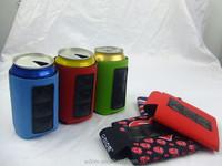 Wholesale neoprene 12oz 330ml therma beverage beer drink Magnetic Cola Bottle Holder