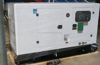 diesel generator set silent open canopy