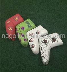 Hot Selling Animal Leather Golf Club Headcover