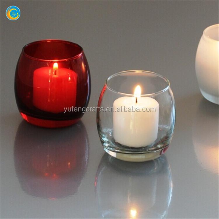 Porta velas votivas de vidrio redondo forma de huevo soportes para ...