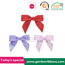 plain color ribbon butterfly ribbon bow tie and bow tie