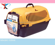 Luxury pet flight cage pet products cat carrier in fashion design