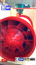 HTF fireproof smoke exhaust axial fan/Exported to Europe/Russia/Iran