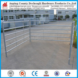 Hot galvanized corral panel/Animal cages/CATTLE PANEL 1.8M X 2.1M