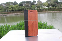 For iPhone 6 Leather Wooden Case , 2015 New Products Bamboo Leather Case for iPhone 6 4.7