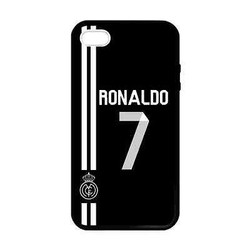 Cr7 real madrid For iPhone 4 4S 5 5S 5C 6 6Plus Black case cover