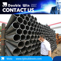 black steel pipe/pipe sizes/construction building material