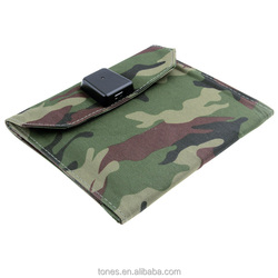 Solar power mobile phone charger bags for girls