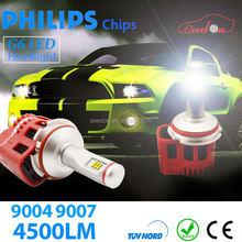 Qeedon new design discount car h4 led headlight bulbs fashionable xenon