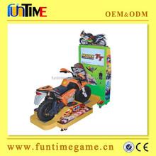 amusement kids motorcycle,motor bike racing game machine for kids FT-KSM032