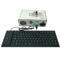 300mw cheap portable programmable rgb laser lighting included free keyboard