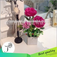 JY 2015 new arrival peony artificial flower wholesale
