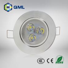 high lumen led spotlights 3w -15w 4inch/6inch/8inch led ceiling light