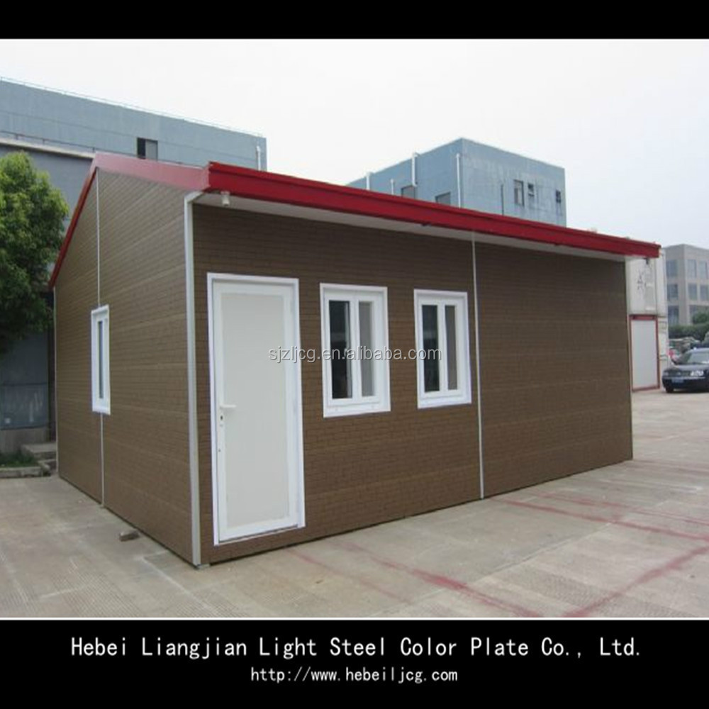 Sandwich panel prefab homes container houses eps cement - Sandwich panel homes ...
