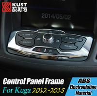 Car center console control panel cover trim Control Panel Cover Trim For Kug a 3 Center Console Frame For Kug a For Escape