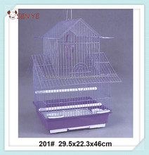 Wire pet bird cage,plastic bird cage trays