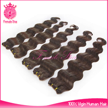 hair styling remy human hair extension, light brown eurasian hair weave extensions