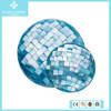 Wholesale Natural Blue Sea Pearl Paua Shell Coin Disc Pendant Jewelry