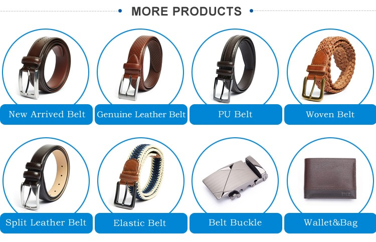 Custom Printed Pu Leather Belt