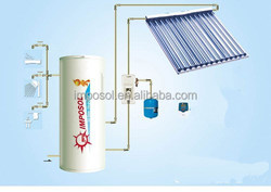 2015 Hot Sale Solar Water Heater with heat pipe for home
