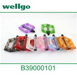 Wellgo fixed gear bike/BMX plastic pedal