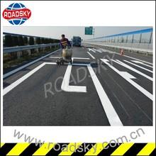 White Traffic Lines Road Marking Paint UK