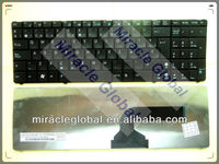 Spanish laptop keyboard for asus G60 N50 K52 K53 etc no frame
