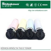 Konica Minolta TN512 refill toner cartridge bizhub copier toner