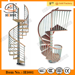 MT-TM093 Glass Stair Railing Systems,solid wooden steps,Teak Outdoor