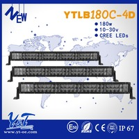 Top selling off road suv led strobe light bars 180W cheap amber led light bar for sale