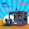 EcubMaker Dual Extruder high precision 3d metal printer